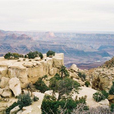 アムトラックでアメリカ一周旅行:Grand Canyon/グランドキャニオン:果てしなく続く大自然を肌で感じる