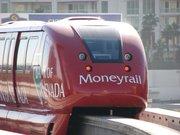 ラスベガス・モノレール/LAS VEGAS MONORAILに乗ってサハラ・ホテル/SAHARA Hotelへ