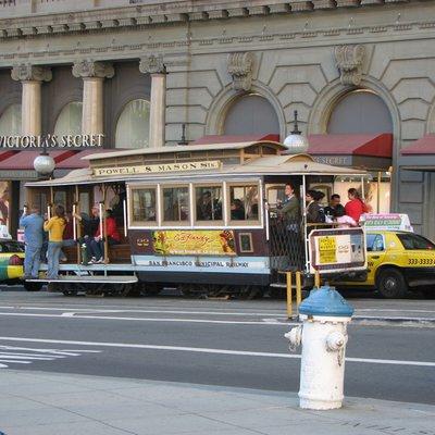アメリカ・サンフランシスコ旅行 2008:サンフランシスコ 第2日目:Union Square -> Fillmore St -> Chestnut st