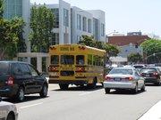 サンタモニカの海岸方面へ遅めの出発/Santa Monica Pire
