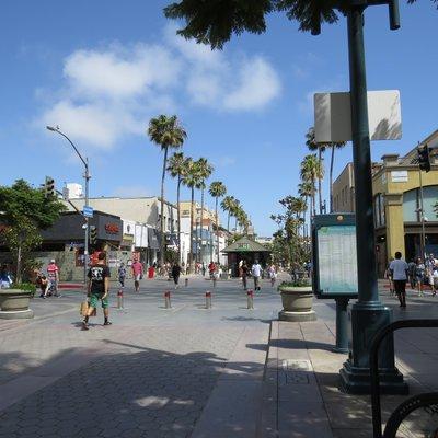 アメリカ・カリフォルニア縦断旅行 2013:カリフォルニア旅行 第2日目 [ロサンゼルス 第2日目]:サンタモニカを散策